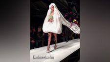 Gigi Hadid'in giydiği büyüleyici gelinlik