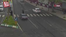 MOBESE kameralarının kaydettiği trafik kazaları