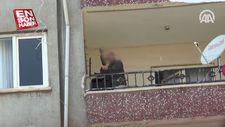 Diyarbakır'da cinnet getiren kişiyi polis ikna etti