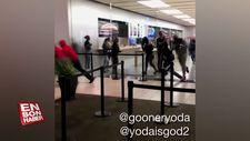 Apple'ın Kaliforniya'daki mağazası soyuldu