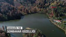 Borçka Karagöl'de sonbahar güzelliği
