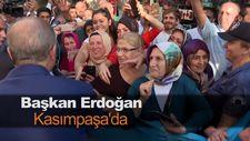 Başkan Erdoğan Kasımpaşa'da
