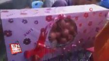 Düğünde 5 kilo soğan hediye edildi