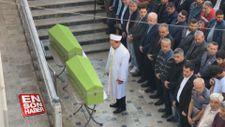 Sakarya'daki yangında ölen iki kardeş defnedildi