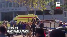 Kırım'da okulda patlama