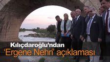 Kılıçdaroğlu'ndan Ergene Nehri açıklaması