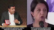 Demirtaş: PKK'lı cenazesine gitmeyen vekillere soruşturma açarım