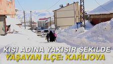 Kışı adına yakışır şekilde yaşayan ilçe: Karlıova