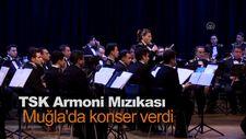 TSK Armoni Mızıkası Muğla'da konser verdi