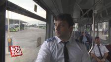 Otizm hastası Ali'nin otobüs sürücüsü olma hayali gerçekleşti