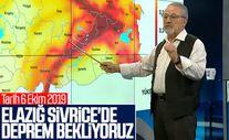 4 ay öncesi Elazığ ve çevresine deprem uyarısı yapılmıştı