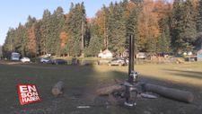 Düzce yaylaları sonbahar manzarasıyla büyülüyor