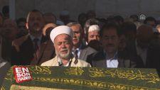 Emekli imam, oğlu ve torununun cenaze namazını kıldırdı