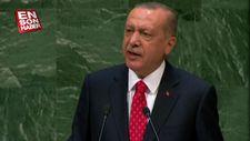 Başkan Erdoğan'dan BM Genel Kurulu'nda FETÖ uyarısı