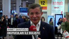 Ahmet Davutoğlu TÜYAP'ta okuyucuları ile buluştu