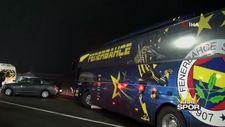 Fenerbahçe, İstanbul'a takım otobüsüyle dönüyor