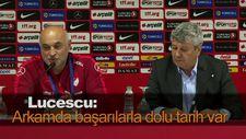 Lucescu: Arkamda başarılarla dolu tarih var