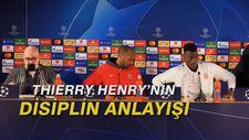 Thierry Henry'nin disiplin anlayışı