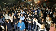 UBER'cilerden darbedilen meslektaşları için eylem
