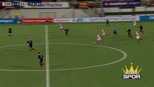 Bryan Smeets'in orta sahadan attığı gol