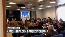 Bakan Soylu'dan HDP'li vekile: Hangi işgalden bahsediyorsun