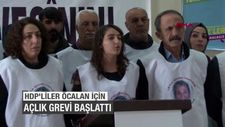 HDP'liler Öcalan için açlık grevi başlattı
