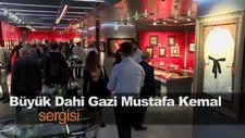 Büyük Dahi Gazi Mustafa Kemal sergisi