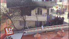 Büyükçekmece'de bir binada patlama: 1 ölü
