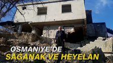 Osmaniye'de sağanak ve heyelan: 50 ev hasar gördü