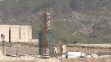 Hasankeyf'te 612 yıllık minare yeni yerinde yükseliyor