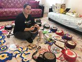 Antalya'da oğlunun sağlığı için evini atölyeye çeviren anne