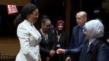 Başkan Erdoğan, Malcolm X'in kızlarını kabul etti
