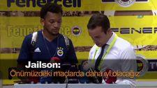 Jailson: Önümüzdeki maçlarda daha iyi olacağız