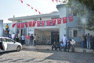 Elif Terim'in ailesinin evi Türk bayraklarıyla donatıldı
