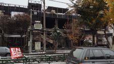 İran'daki benzin zammı protestolarında kamu binaları tahrip edildi