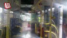 Okmeydanı'nda metrobüsler çarpıştı