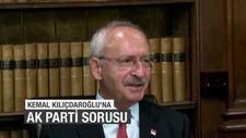 Kılıçdaroğlu'na 'AK Parti'nin başarısından ders alıyor musunuz?' sorusu