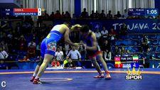 Genç güreşçi Arif Özen Dünya Şampiyonasında finalde