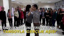 'Tazelenme Üniversitesi'nde tangoyla 'gençlik aşısı'