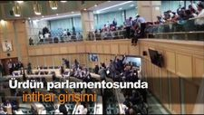 Ürdün parlamentosunda intihar girişimi