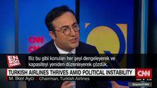 THY Yönetim Kurulu Başkanı Aycı CNN'e konuk oldu
