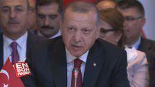 Erdoğan, Azerbaycan'daki Türk Dili Konseyi'nde