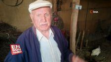 38 tavuğu köpek tarafından telef edilen yaşlı adam gözyaşlarını tutamadı