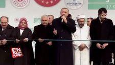 Millet Bahçeleri Başkan Erdoğan tarafından açıldı