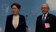 Akşener ve Kılıçdaroğlu'ndan ittifak açıklaması