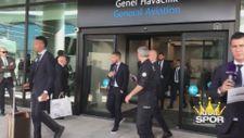 Real Madrid İstanbul'a geldi