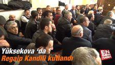 Yüksekova 'da Regaip Kandili kutlandı