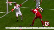Süleyman Soylu'dan muhteşem kafa golü