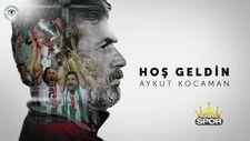 Konyaspor Aykut Kocaman ile sözleşme imzaladığını duyurdu