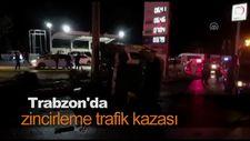 Trabzon'da kaza: 1 ölü, 9 yaralı